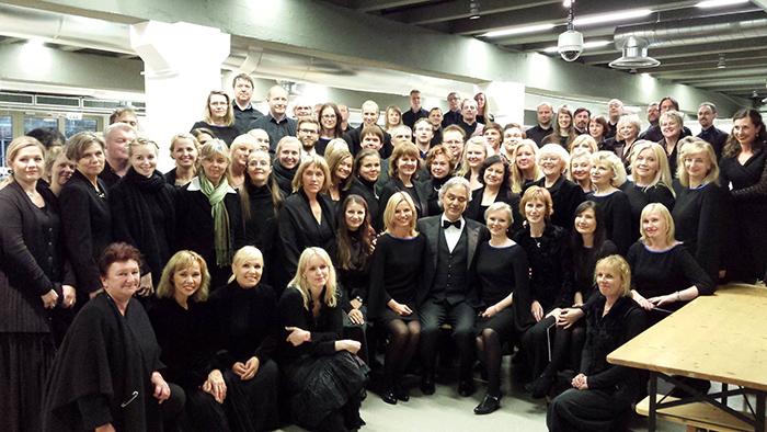 Andrea Bocelli kontsert